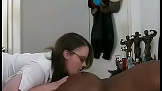 Chubby wife teacher loves big black dick