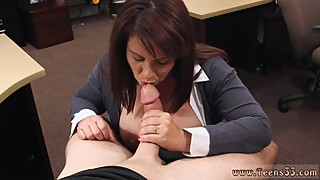 Amateur wife threesome, moaning, and huge natural breasts alone, but she