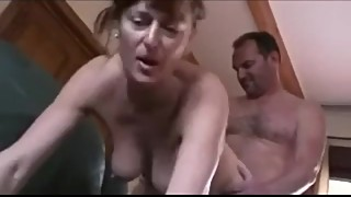 British cuckold sees his wife fucking another man
